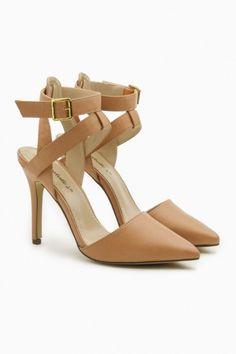 Sandra d'Orsay Heels in Nude