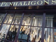What a great collection...I want to go in this store...(I keep a snip of the ribbons from my first pair of pointe shoes!)