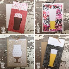 Beer Cards! Hail To The Ale on Etsy...