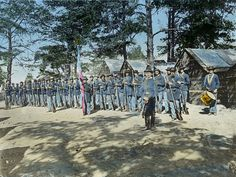 The Civil War in color photos.  150 yrs. later Civil war in pictures found on msn this morning