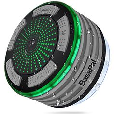 Save 60% on AMAZON with code 60TXY57P Pinned on 9/27/2018 BassPal Shower Radios, IPX7 Waterproof Portable Wireless Bluetooth Speaker with LED Mood Lights, Super Bass HD Sound Shower, Pool, Beach, Kitchen&Outdoor Radios, Waterproof Bluetooth Speaker, Bluetooth Speakers, Strand Pool, Shower Speaker, Portable, Modern, Beach Pool, Amazon Electronics