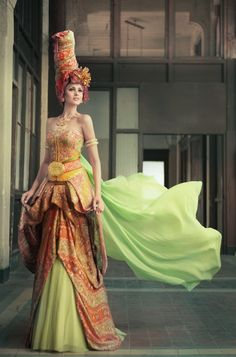 Inspirasi dari Turki - Inspired by Turkey - from Batik Keris. Stunning!