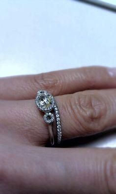 Wedding ring set  #weddingband