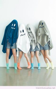 Simple Halloween ghost costume