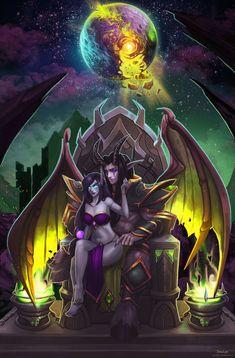 Warcraft Legion, Warcraft Art, Dark Fantasy Art, Fantasy Artwork, Final Fantasy, Skyrim, Larp, Mononoke Anime, World Of Warcraft Wallpaper