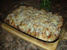 Chicken parm baked ziti