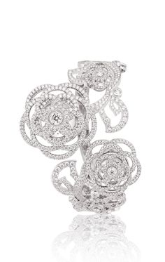 CHANEL JEWELRY WATCHES WATCH IN 18K WHITE GOLD AND DIAMONDS