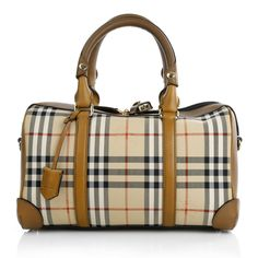 Travel with style: Burberry Horseferry Check Medium Alchester Armour www.fashionette.de