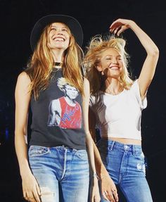 pinterest || ☓ cmbenney // Behati Prinsloo & Candice Swanepoel