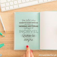 Livro com histórias tuas e minhas (e de mais ninguém) (PT) - Mr. Wonderful