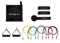 Expander Set Trainingsbänder Fitness  Widerstandsbänder BodyNetics PRO x 5