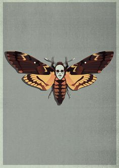 The Silence of the Lambs ~ Alternative Movie Poster by Matt Needle Horror Posters, Horror Films, Horror Art, Cinema Posters, Lamb Tattoo, Alternative Movie Posters, Scary Movies, Halloween, Cool Art