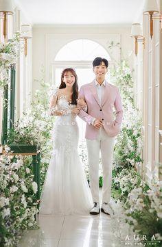 Wedding Couples, Wedding Photos, Korean Wedding Photography, Wedding Doors, Wedding Company, Day For Night, Bridal Dresses, Wedding Planning, Dream Wedding