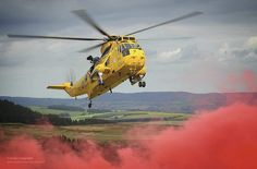 RAF Sea King Search and Rescue Helicopter from 202 Squadron by Defence Images, via Flickr