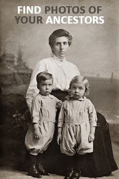 Discover photos of your ancestors. Enter your last name on Ancestry to discover photos and other historical documents of your ancestors.
