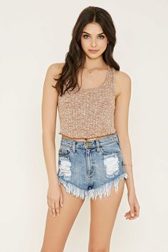 Ribbed Knit Crop Top | Forever 21 - 2000185401