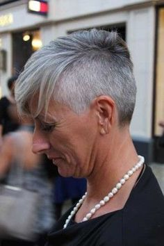 Grey undercut That will be me always keep my shaved style; even as I move on and…