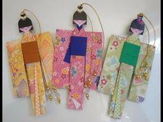 Marcador de livro, Boneca Japonesa