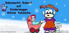 Schöne neue Babymarkt Rabatt Aktion: bis zu 40 Euro und mehr an Kinderwagen Winter Fußsäcken sparen!   WICHTIG: die Aktion gilt nur heute, am 30.01.17 ! Also schnell zuschlagen: ╰▶ Weitere Infos im Blog: http://schlappilie.de/babymarkt-rabatt-auf-kinderwagen-fusssack-produkte/