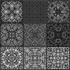 Repetition of simple formal rules can create complex patterns of archetypal beauty. Description from psychedelic-information-theory.com. I searched for this on bing.com/images