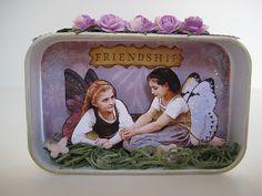 Fairy Friends~Altered Art Tin~Gossamer Creations~ | Flickr