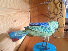 Embroidered bird 2