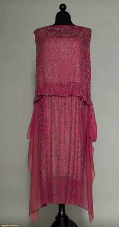 Dress 1920s Augusta Auctions