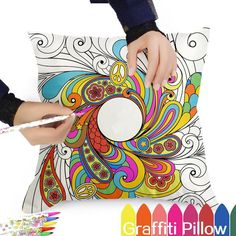 This is a great hit: Pop Art Graffiti ... Its on Sale! http://jagmohansabharwal.myshopify.com/products/pop-art-graffiti-design-diy-cotton-linen-pillow-cushion-waist-throw-cover-decoration-waterproof-pen?utm_campaign=social_autopilot&utm_source=pin&utm_medium=pin