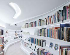 Library by UNStudio #Library #Loft #UNstudio #apartmentherapy