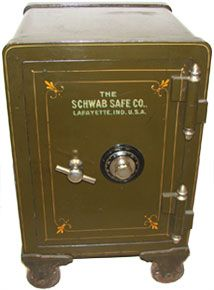 Hoogerhyde buys and sells antique safes, with several antique safes for sale in Grand Rapids Michigan. The beauty of antique safes is function and history. Selling Antiques, Old Antiques, Small Safe, Safes For Sale, Safe Company, Antique Safe, Bank Safe, Safe Vault, Vault Doors
