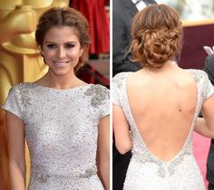 Maria-Menounos-braided-updo - Google Search