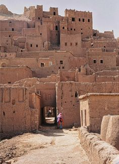 Ait Benhaddou, Unesco World Heritage Site in Morocco