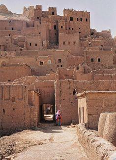 Ait Benhaddou, Unesco World Heritage Site in Morocco