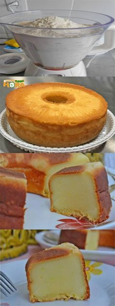Como Fazer Bolo de Leite #ComoFazerBolodeLeite #BolodeLeite #Receitatodahora Other Recipes, Sweet Recipes, Cake Recipes, Bahamian Food, Cooking Time, Cooking Recipes, Good Food, Yummy Food, Portuguese Recipes
