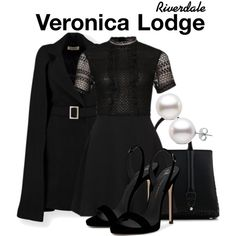 Outfits Riverdale, Riverdale Fashion, Veronica Lodge Fashion, Veronica Lodge Outfits, Riverdale Set, Riverdale Veronica, Riverdale Halloween Costumes, Formal Casual, Chic Outfits