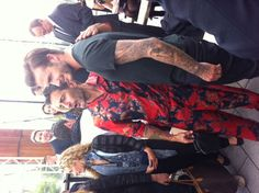 David Beckham & Marc Jacobs before the Louis Vuitton Show #FashionWeek de #Paris : Homme Printemps-Eté 2014 - #Fashion #Mode #Défilé #Catwalk #Outfits - More news here: www.parismodes.tv