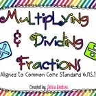 This set of 20 task cards covers multiplying and dividing proper and improper fractions, including whole numbers and word problems.These are aligne. Teaching 6th Grade, Sixth Grade Math, Teaching Schools, Teaching Math, Teaching Ideas, Dividing Fractions, Math Fractions, Fun Math, Math Math