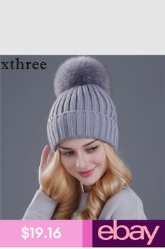 bdc6fcdaa00 MNKNCL Rabbit Cashmere Knitted Winter Hat Women Colorful Thick Female  Skullies Beanies Warm Gravity Falls Cap Women s Hats