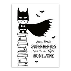 Superhero Batman Hippie Quotes Black White Poster Nordic Boy Kids Room Wall Art Home Deco Canvas Painting Print Picture No Frame Posters Wall, Poster Prints, Batman Painting, Batman Quotes, Nursery Paintings, Kids Room Wall Art, Kids Poster, Unique Wall Art, Black White