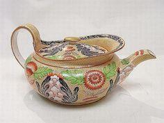 """Wedgwood """"Imari"""" teapot @Ann Flanigan Flanigan Flanigan Refford"""