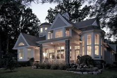 Shingle Style Lake House - VanBrouck & Associates - VanBrouck & Associates