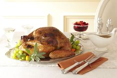 Sage-Orange Turkey and White Wine Gravygoodhousemag