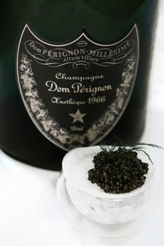Dom Perignon and Caviar - Happy New Year!