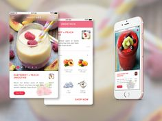 Recipe App UI by Tay Yang Heng