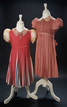 Lot: Two Dresses Worn by Shirley Temple at Event Occasions by Elise for I. Magnin $1000+ | Proxibid Auctions