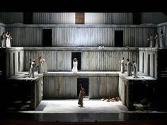 Elektra at the Teatro Real de Madrid (shared with Teatro San Carlo, Naples). Production by Klaus-Michael Grüber. Sets & costumes by Anselm Kiefer.