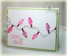 pink Christmas card- Google Search