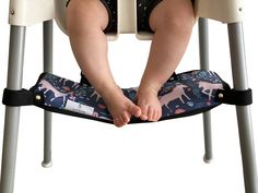 Footsi - Highchair Footrest - Limited Edition Prints - 5 options – Pimp my high chair Antilop High Chair, Fine Motor Skills Development, Footrest, Gross Motor, Wash Bags, Limited Edition Prints, Memory Foam, Gross Motor Skills, Foot Stools
