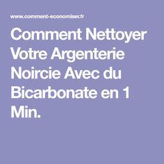 Comment Nettoyer Votre Argenterie Noircie Avec du Bicarbonate en 1 Min.