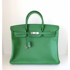 bags hermes - 35cm Candy Birkins, from left Lime, Rose Tyrien, and Kiwi | H is ...